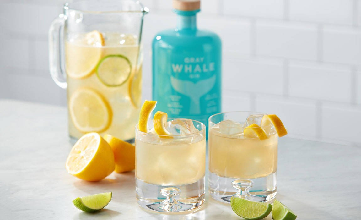 California Gray Whale Gin and cocktail recipes