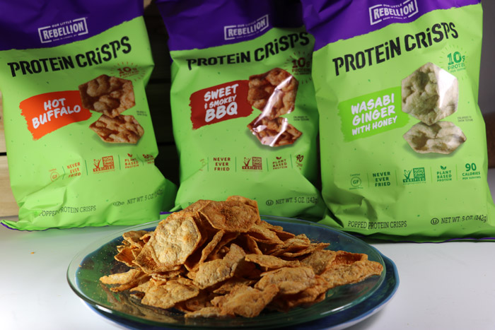 rebellion snacks protein crisps
