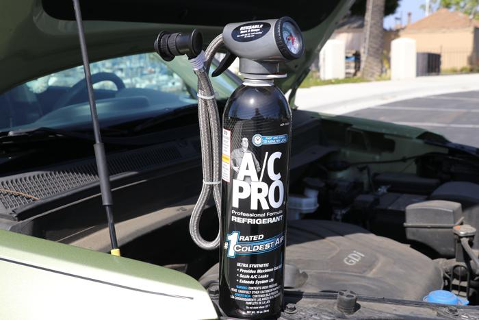 ac pro recharge bottle and charger