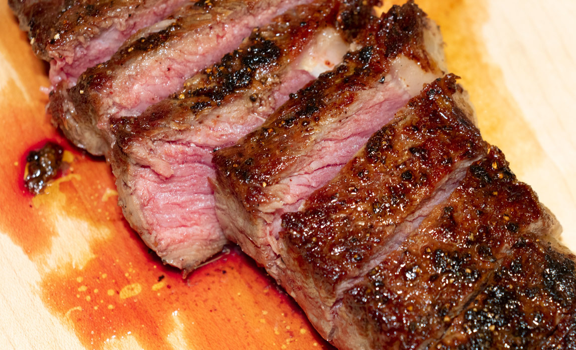 How to cook the perfect New York Strip Steak at Home
