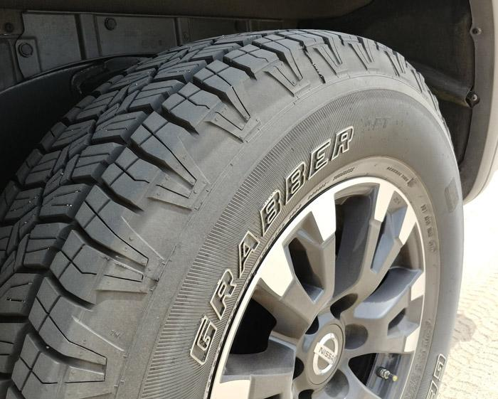 general tire apt on nissan titan