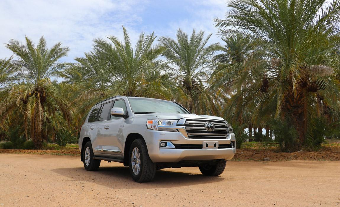 2019 Toyota Land Cruiser at Dateland in Arizona