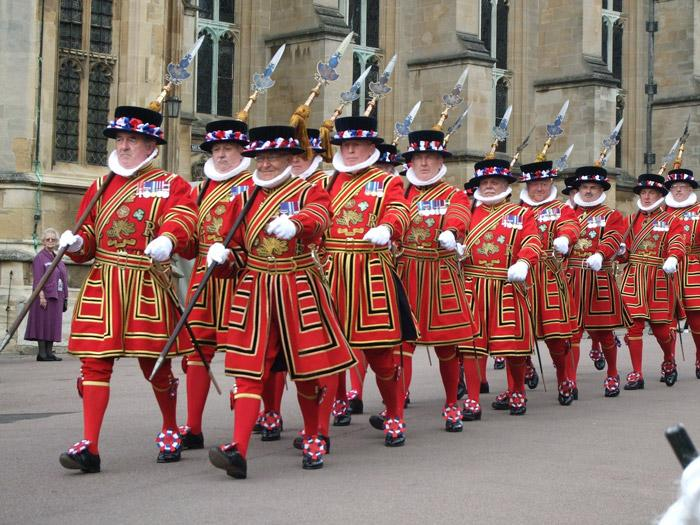 yeoman warders at tower of london