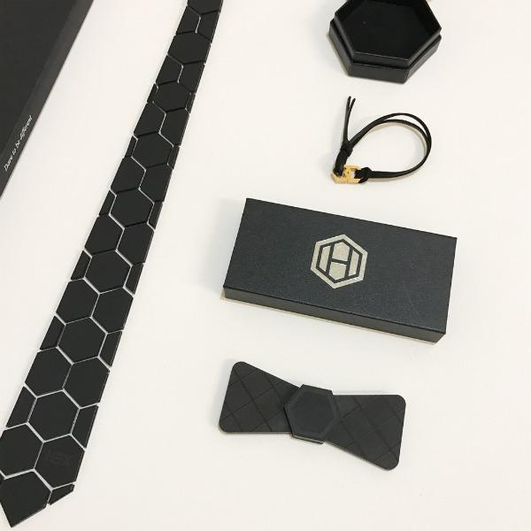 Hex Tie and Bow Tie are great for making a bold fashion statement