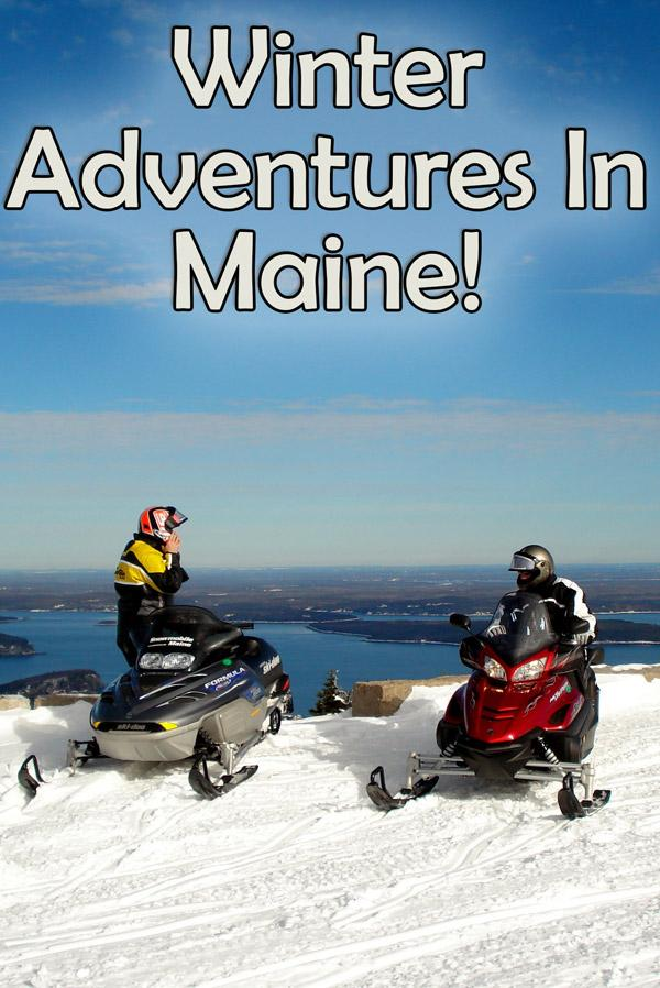 Winter sports and other awesome adventures in Maine