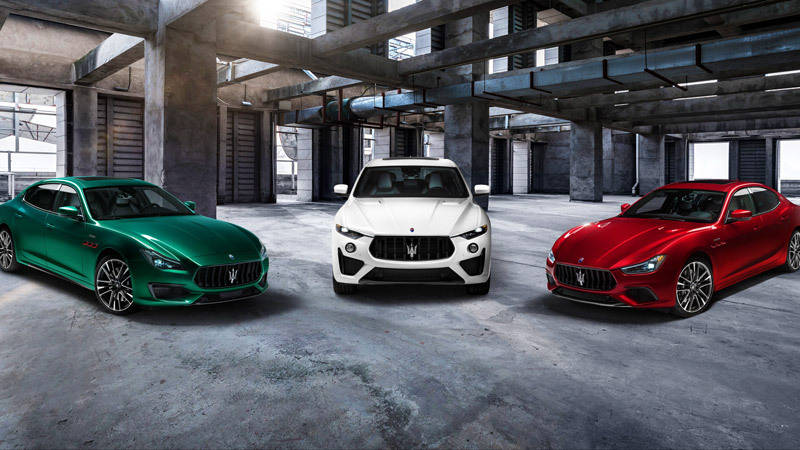 introducing the maserati trofeo collection