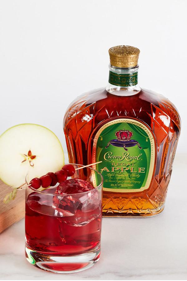crown royal crownberry apple cocktail recipe