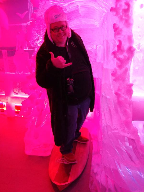 james surfing minus 5 ice bar