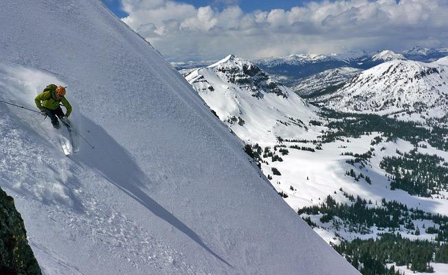 back country skiing montana