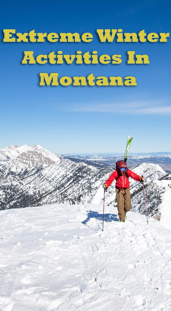 extreme winter activities in montana
