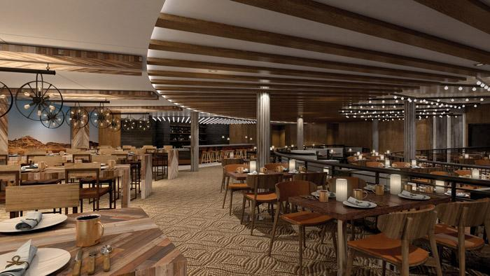 q bbq restaurant on norwegian bliss