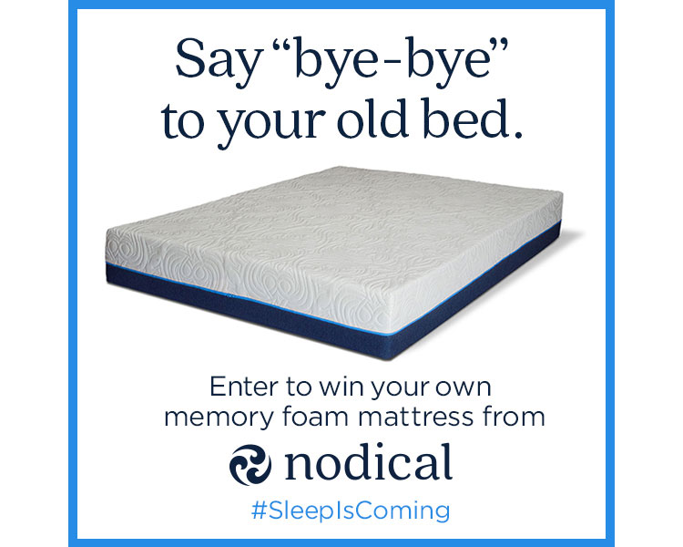 Nodical Mattress #SleepIsComing