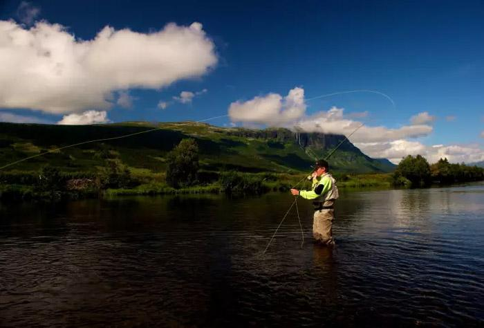 fly fishing norway