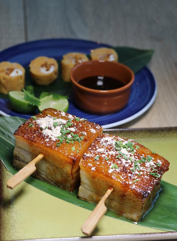 pork belly at food republic norwegian bliss