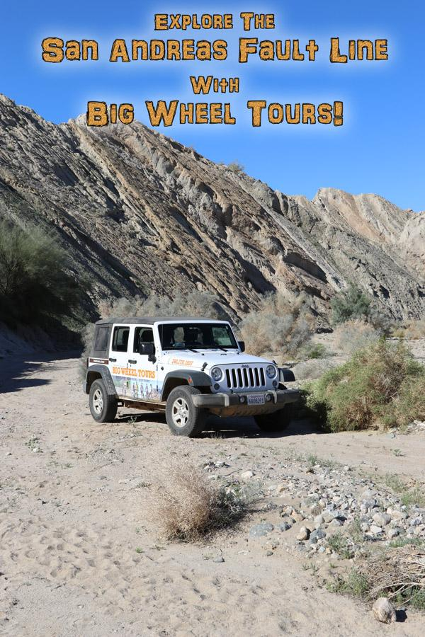 explore the san andreas fault line with big wheel tours