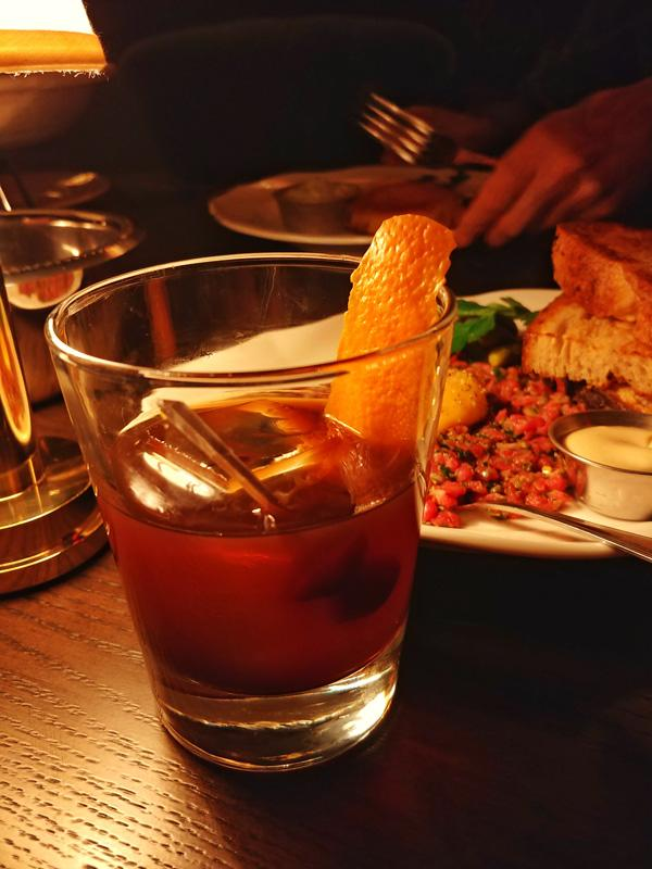 bavettes steakhouse and bar park mgm tokyo old fashioned