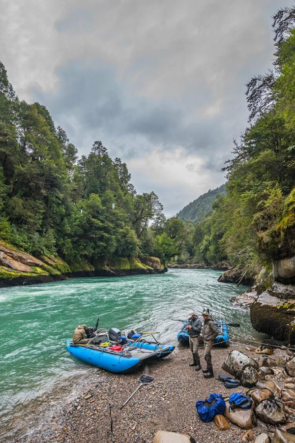 fishing in patagonia chile with frontiers international travel