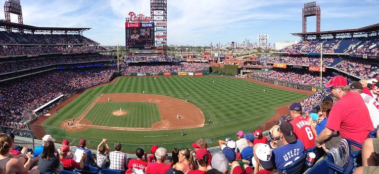 phillies baseball game stadium