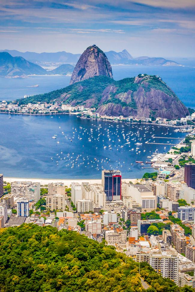 rio de janeiro is one of the ports on the princess cruises south american itinerary