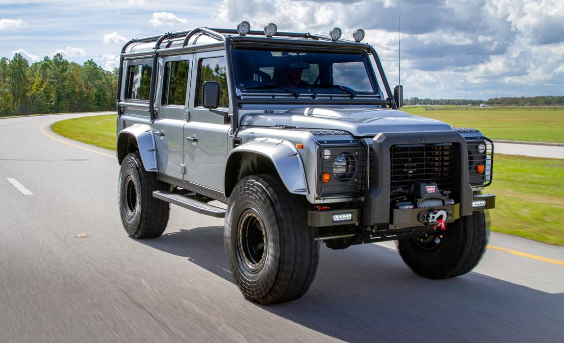 Project Viking custom Land Rover Defender by E.C.D. Automotive Design