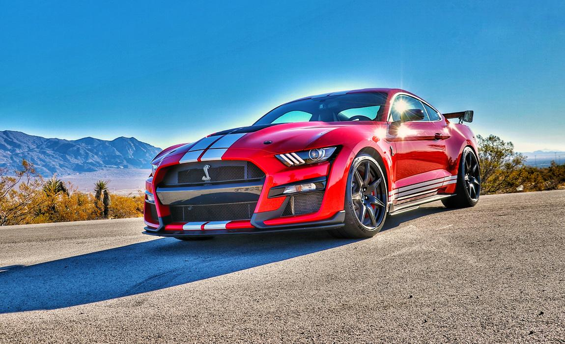 Shelby GT500 Mustang First Drive