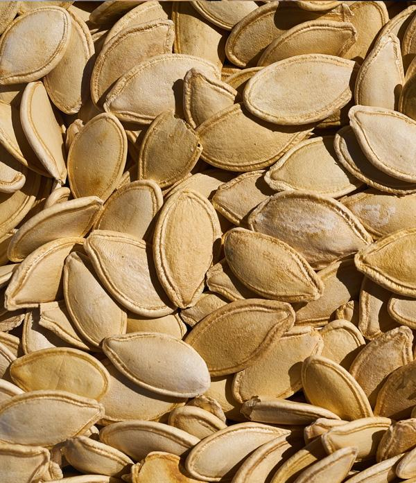 pumpkin seeds make a great healthy snack with tons of nutrients including magnesium and high fiber