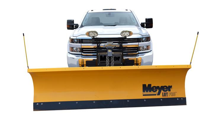 meyers snow plow on chevy truck