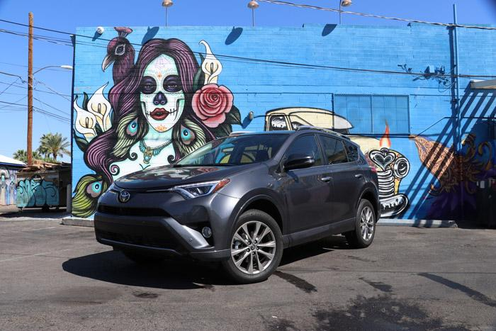 bario cafe murals with rav4