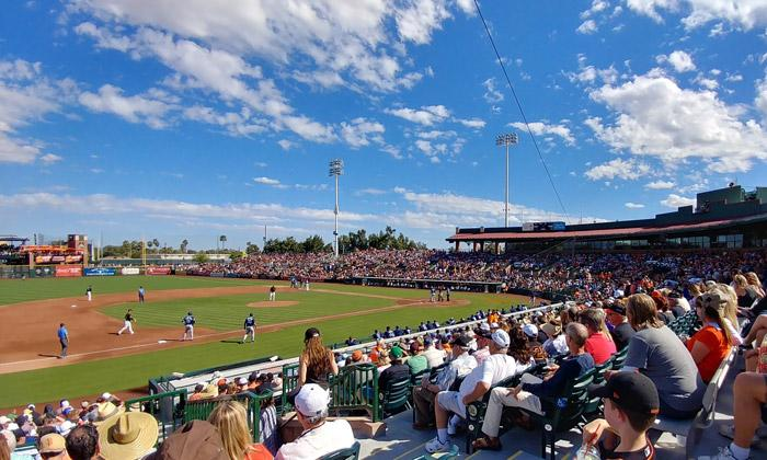 scottsdale stadium spring training
