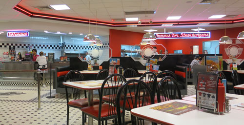 Steak n shake up all night menu for Steak n shake dining room hours