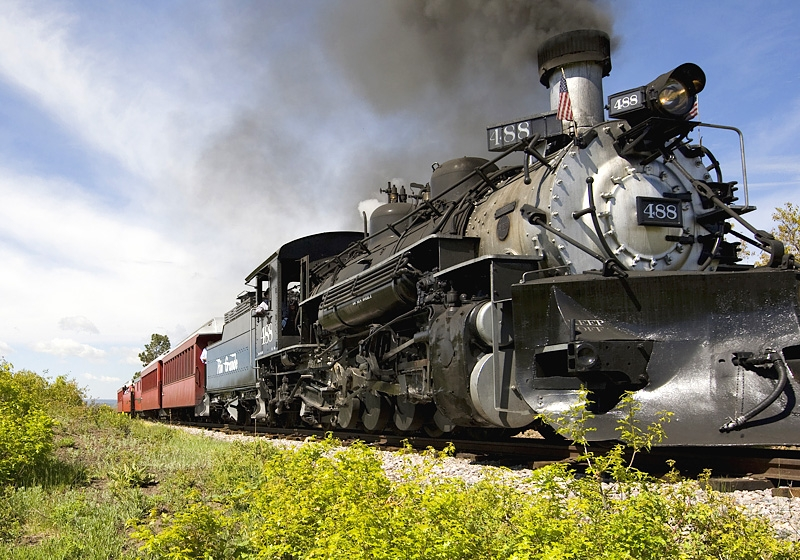 Cubres Toltec Steam Locomotive
