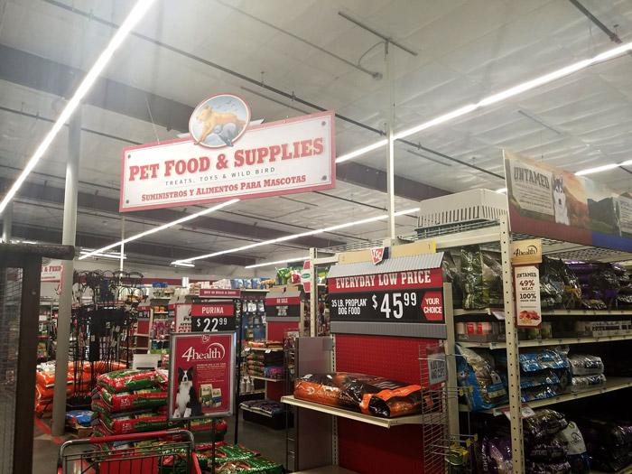 pet food supplies tsc