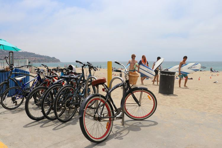 torrance beach bikes and surfboards
