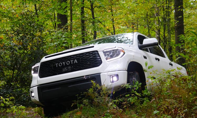 Toyota Tundra in North Carolina Mountains