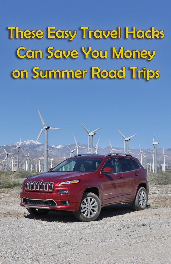 these easy travel hacks can save money on summer road trips