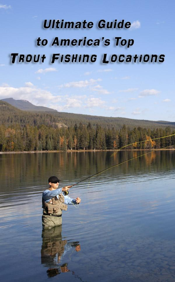 americas top trout fishing locations
