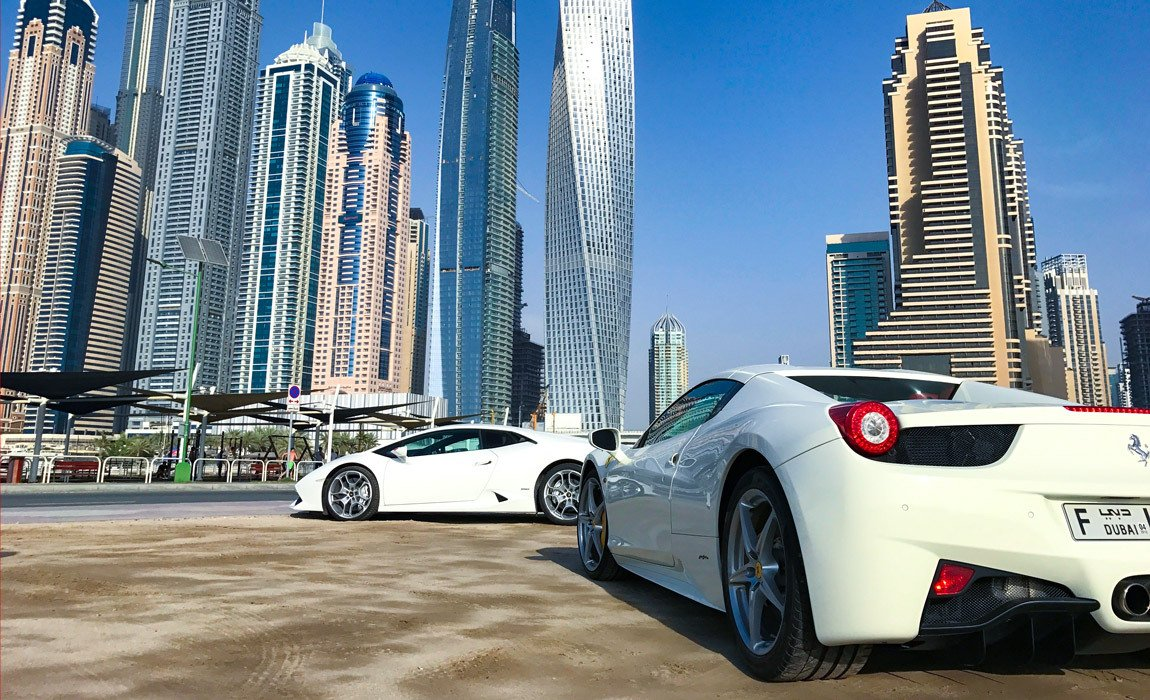 UAE Travel ideas for guys who love cars