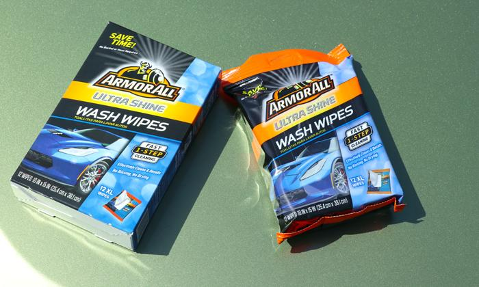 ultra shine wash wipes packaging