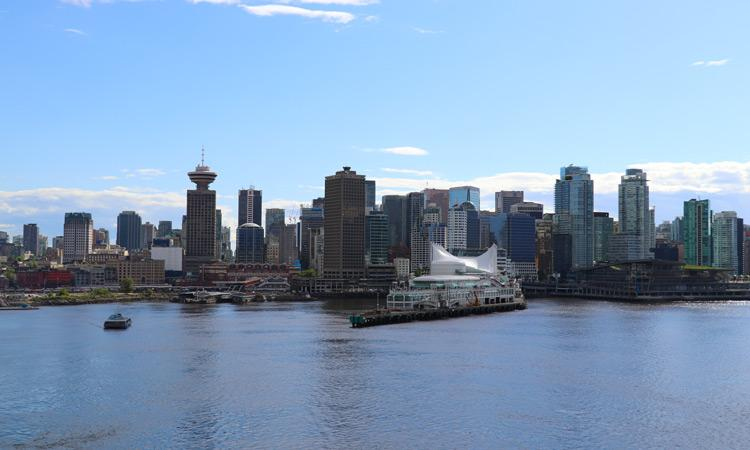 Vancouver Skyline from Cruise Ship