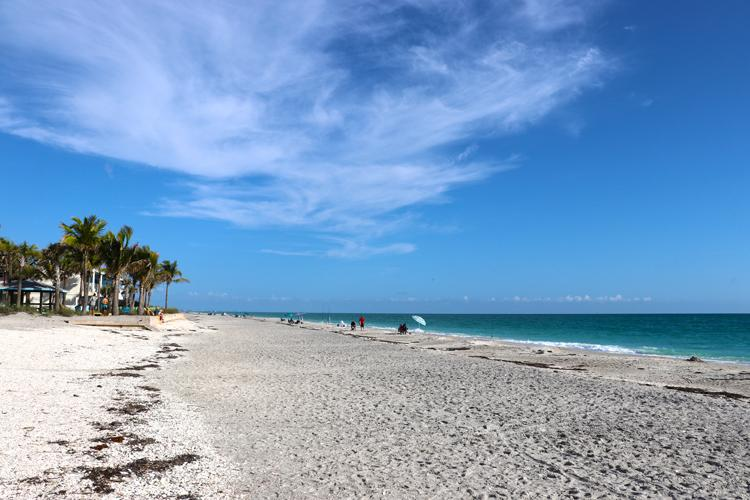 beach at wannab inn manasota key florida