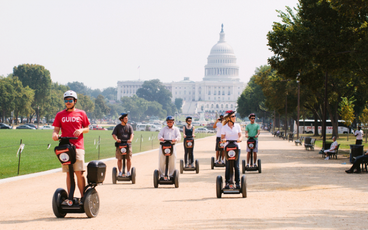 city segway tours washington dc