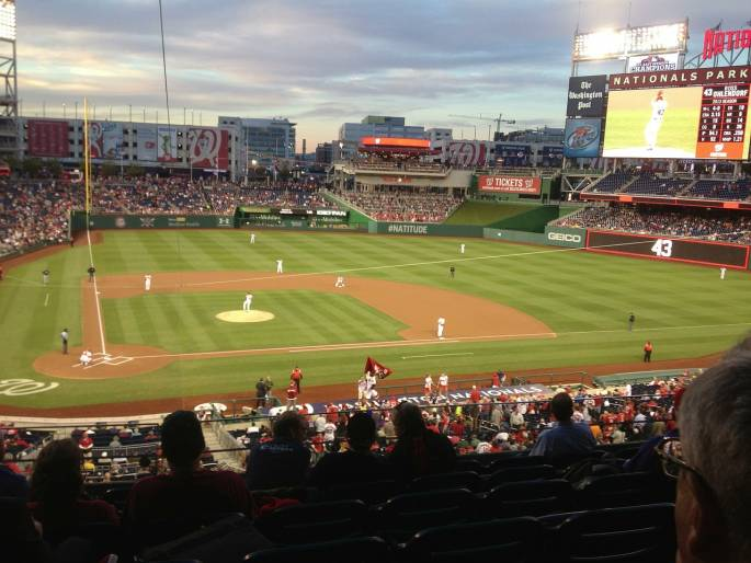 washington nationals baseball stadium in washington dc
