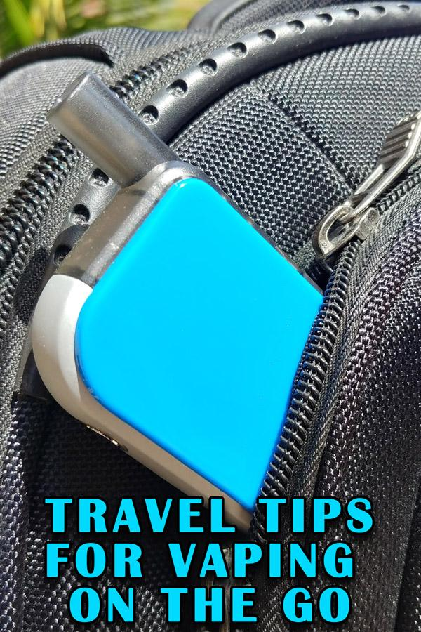travel tips for vaping on the go