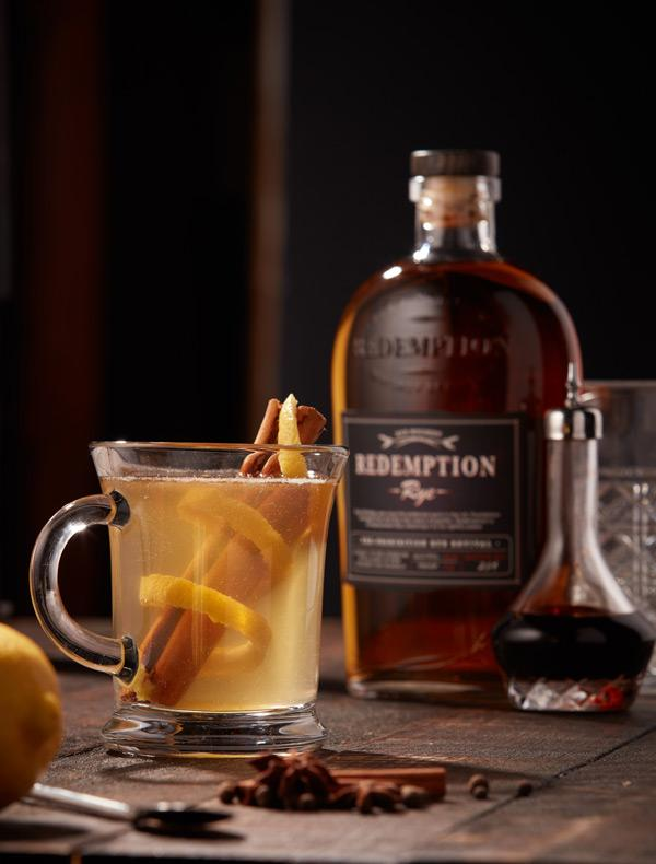 hot toddy with redemption rye cocktail recipe