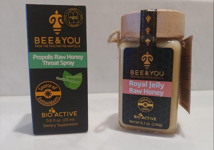 bee and you throat spray royal jelly