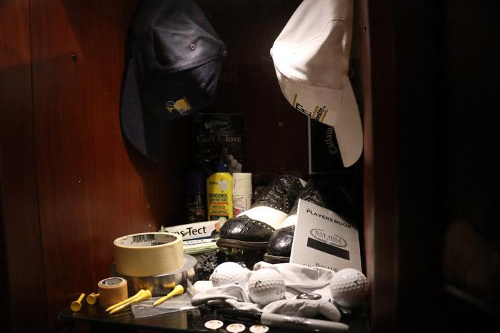 arnold palmer locker closeup