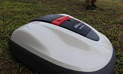 Miimo Robot Lawn Mower from Honda