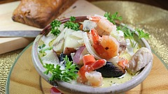 Irish Whiskey Bread and Fish Stew Recipe