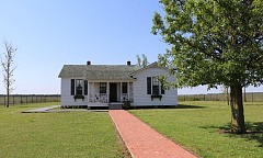 Johnny Cash Boyhood Home in Dyess Colony Arkansas