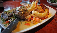 Surf and Turf at Red Lobster